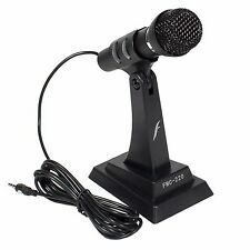 Frisby Stand Alone Microphone for PC Computer Laptop Notebook VoIP W/noise