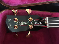 GIBSON EB-750 Semi-Hollow Body Bass -Sammlerstück -Extrem Selten