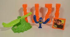 """2013 Punch Monkey & Thunk 2.25"""" McDonald's Action Figure Set #5 The Croods"""