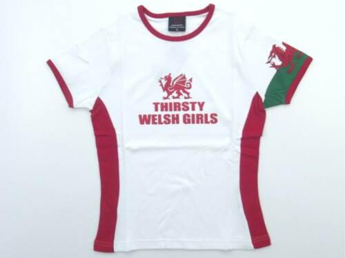 Manav Thirsty Welsh Girls Ladies T-shirts