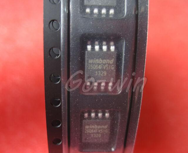 5PCS W25Q64FVSSIG IC FLASH 64MBIT 104MHZ 8SOIC NEW