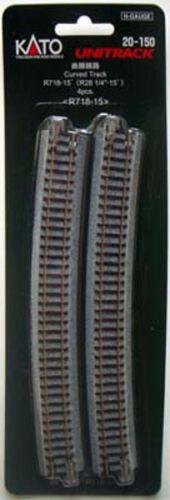 28 0.6cm Kato 20-150 718mm 15º Kurve R718-15 n Maßstab