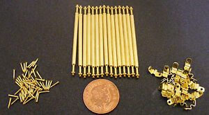 Image Is Loading 1 12 Scale Set Of 15 Metal Brass