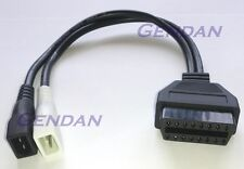 VW Audi 2x2 pin diagnostics adaptor cable *NEW*