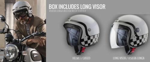 CABERG Casco freeride Casco Moto Nero Opaco Incl VISIERA GRATIS M 57//58