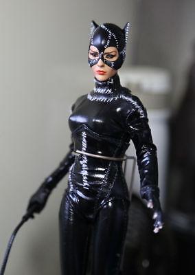"1:6 KUMIK Batman Catwoman CG CY Girl Female Woman Head 12/"" Action Figures KMF029"
