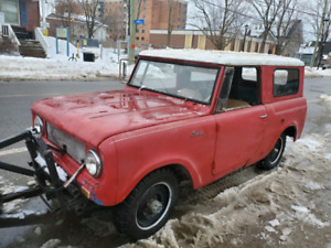 64 International Harvester Scout