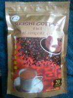 Reishi Coffee 4 In 1 (3 + Ganoderma) - 20 Bags-sachets, 360 Ships Priority