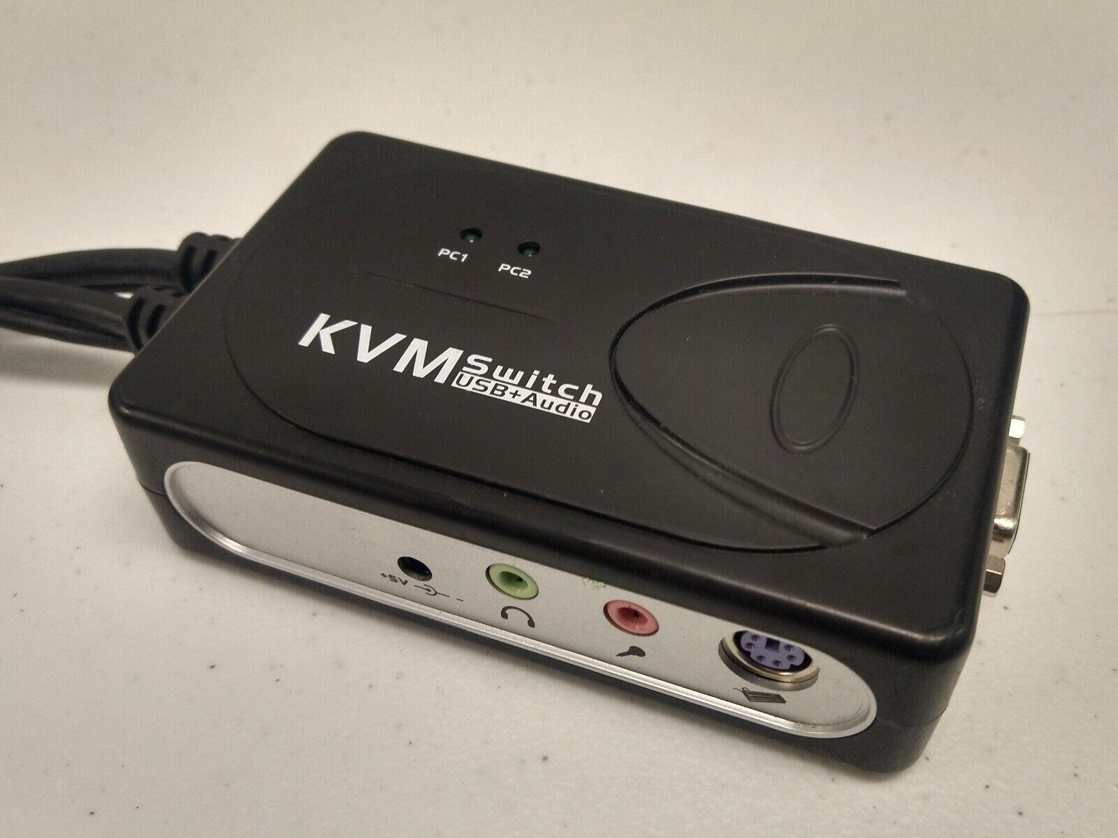 KVM SWITCH USB+AUDIO WE441 5V 1A
