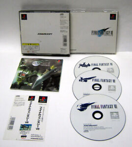 FINAL-FANTASY-VII-7-Jap-COMPLETO-PLAYSTATION-1-PSX-PS1-PS3-USATO-NTSC-J