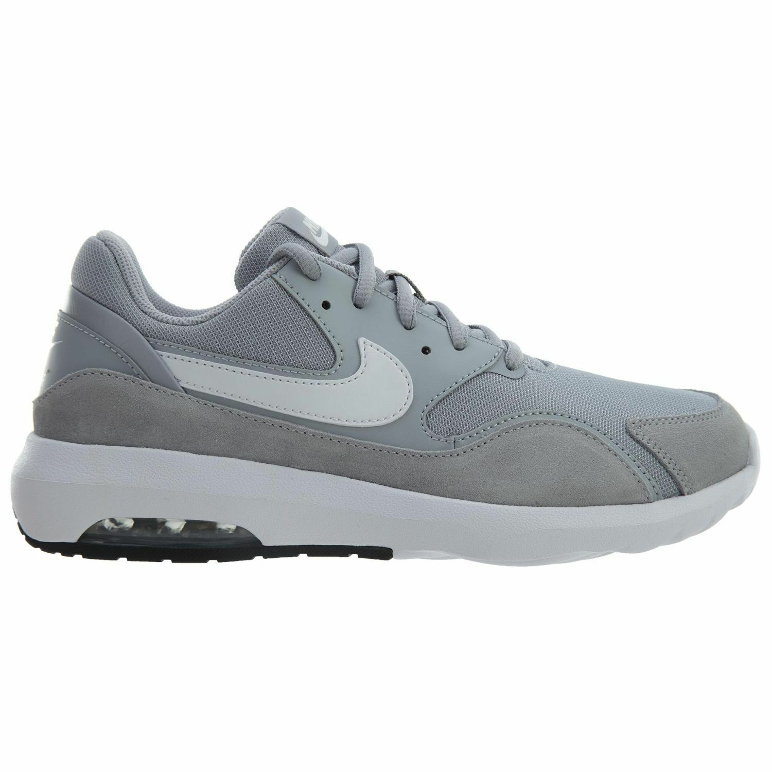 Nike Air Max Nostalgic Mens 916781-001 Wolf Grey White Running Shoes Size 9