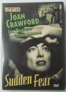 Sudden Fear 1952 Starring Joan Crawford Jack Palance US Import NTSC DVD
