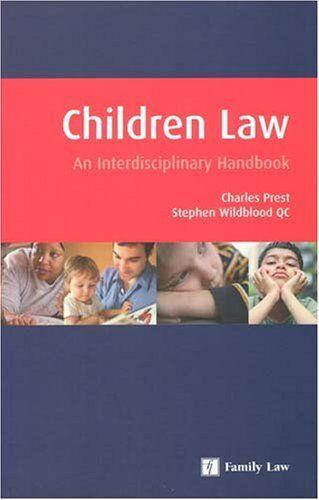 1 of 1 - Interdisciplinary Handbook of Children Law,Charles Prest, Stephen Wildblood