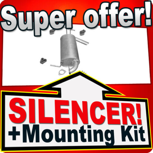 Rear Silencer MITSUBISHI OUTLANDER 2.0 2.4 4WD Exhaust Box AFC