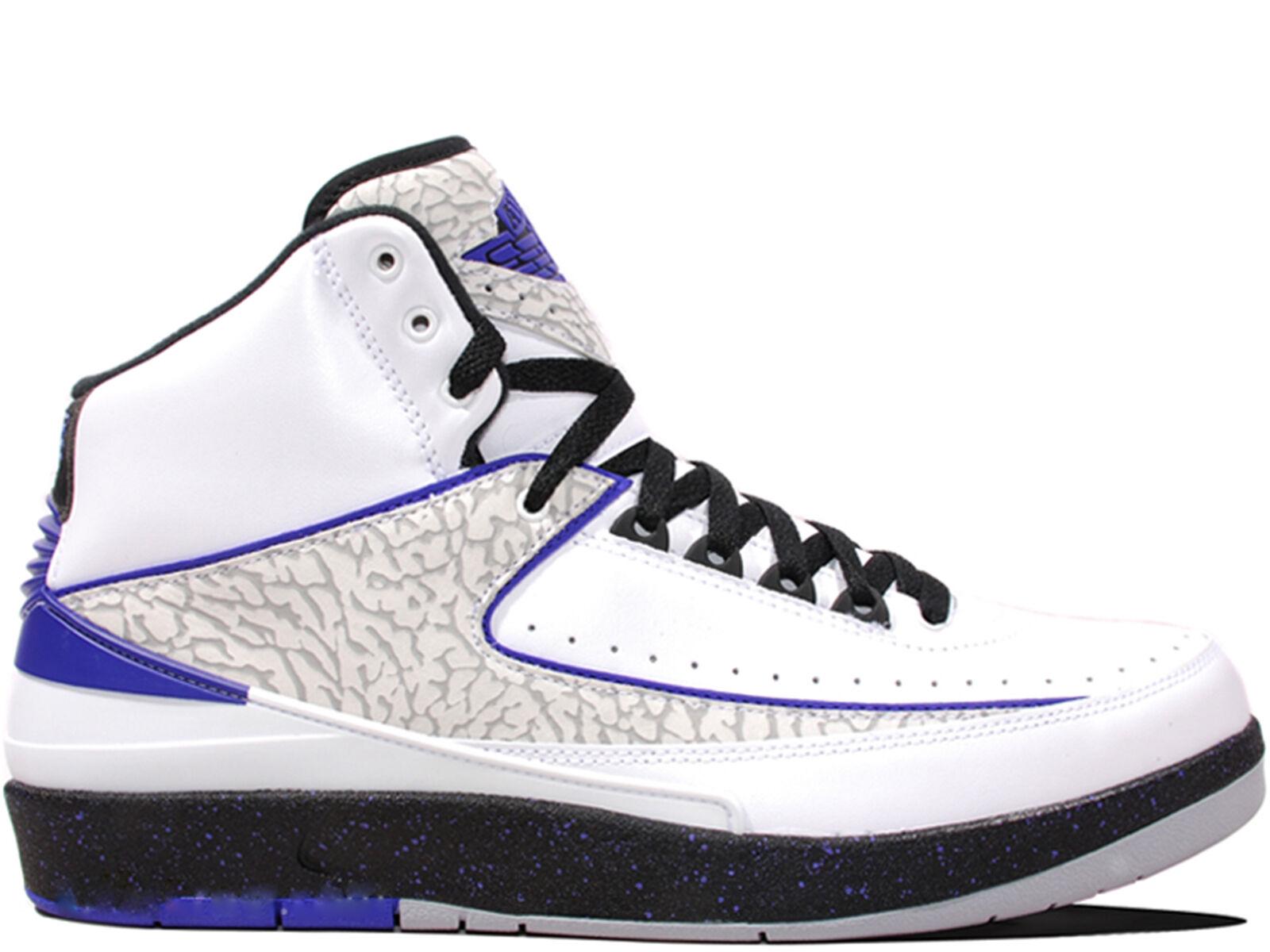 Men's Brand New Air Jordan 2 Retro  Concord  Athletic Sneakers