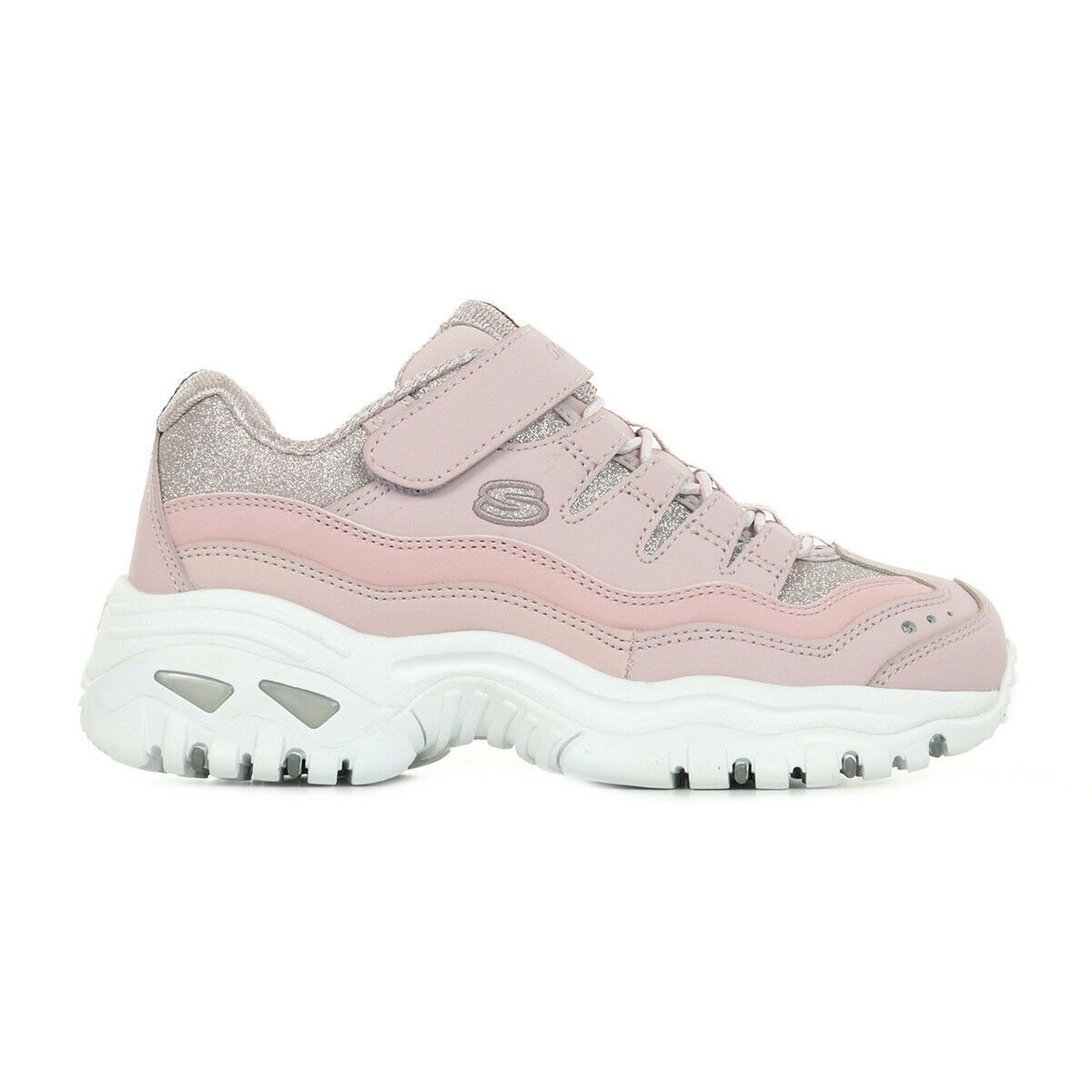 Chaussures Baskets Skechers fille Energy Best Pals taille Rose Synthétique