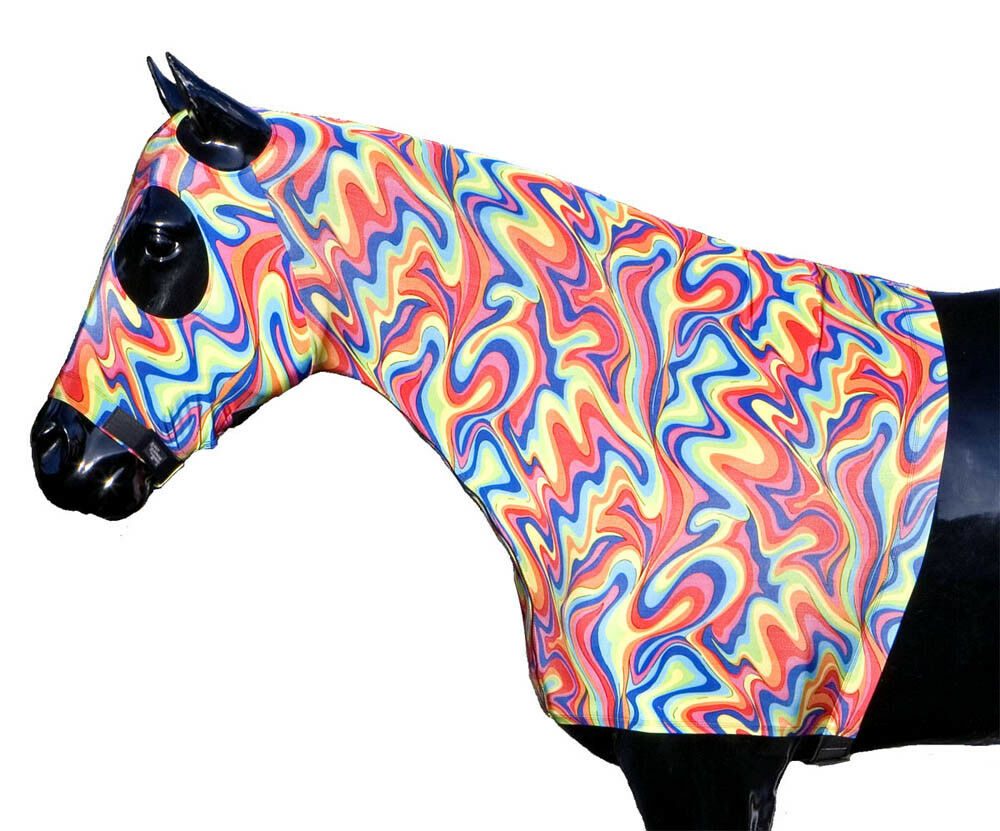 Sleazy Sleepwear for Horses Genuine Medium Stretch Hood Medium Genuine Fiesta NO ZIPPER 577994