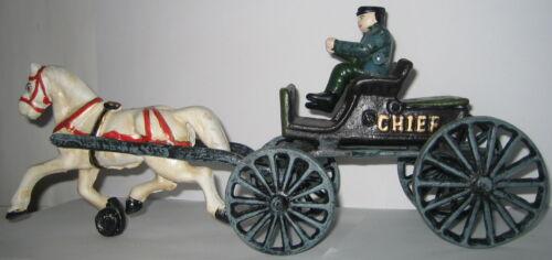 Pferdekutsche alte Scheriff Pferd Kutsche im Antik Stil 35x15x9cm Chief P.D