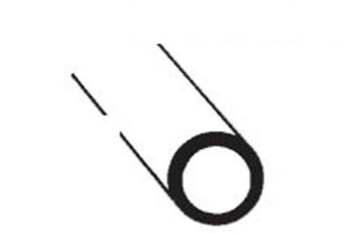 1st Class 5 Pieces Javis CAR-6  Clear Styrene Rod 4.8mm Diameter x 255mm Long