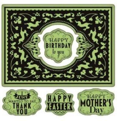 Happy Birthday Jesus Inkadinkado Cling Stamps