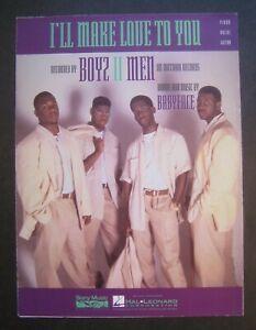 I'll Make Love To You by Boyz II Men sheet music