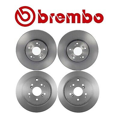 Rear Brake Rotors Discs For 2001-2006 Acura MDX 2003-2008 Honda Pilot Slot
