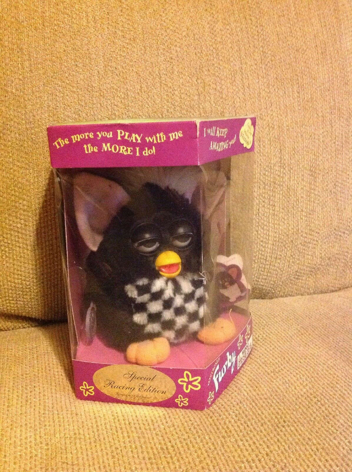 NEW SEALED Furby Electronic Special Racing Edition 1999 70-891 Only 72,000 Made