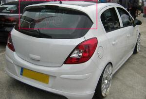 Opel Vauxhall Corsa D 5d 5 Doors Rear Roof Spoiler Ebay
