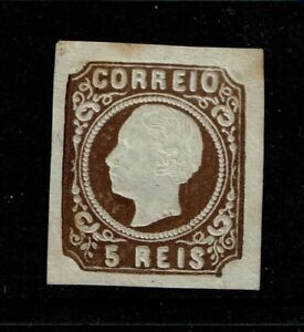 Portugal-SC-12-type-II-Mint-Hinged-small-Hinge-Remnant-see-notes-S4807
