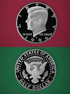Clad 2007 S Proof John Kennedy Half Dollar Ultra Deep Cameo Combined Shipping