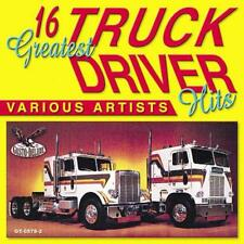 16 Greatest Truck Driver Hits by Various Artists (CD, Nov-2006, Gusto Records)
