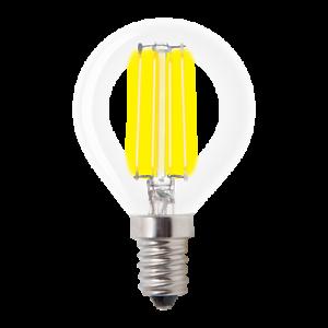 Verbatim LED Filament Clear Dome Mini-classic Dimmable E14 2700K 470lm 330° Beam