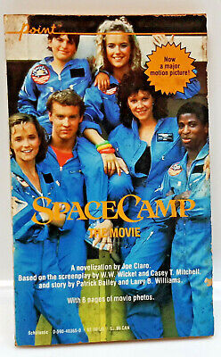 UNREAD 1986 Space Camp Movie Adaptation Paperback Book from UK