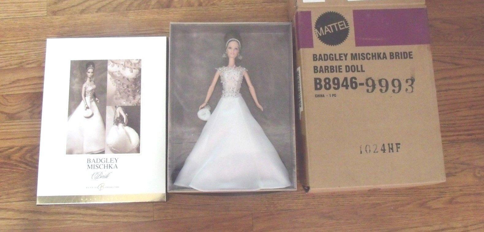 2003 Badgley Mischka Bride Barbie Gold Label