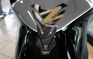 PARASERBATOIO STICKER 3D SERBATOIO compatibile per MOTO KAWASAKI Z750 Z1000 oro