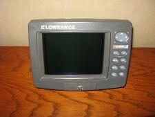 LCX-110C head Only Lowrance LCX-110C  GPS fishfinder Sonar Radar