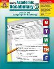 Evan-Moor Educational Publishers 2759 Daily Academic Vocabulary Grade 3