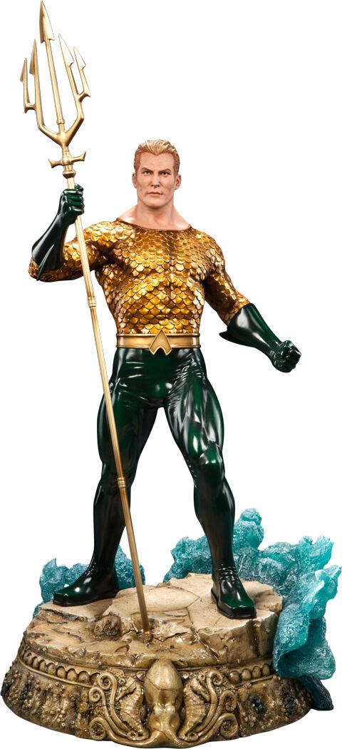 AQUAMAN - Aquaman 24  Premium Format Statue (Sideshow Collectibles)  NEW