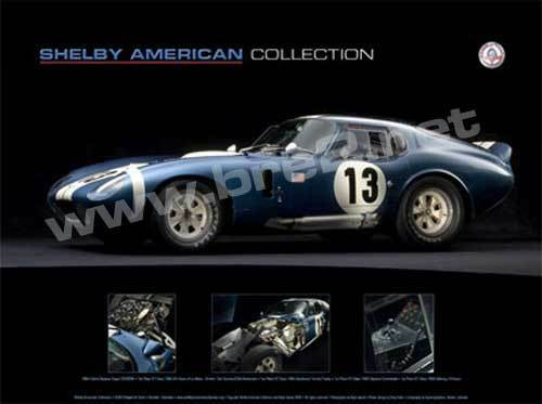 A 1964 SHELBY COBRA ROADSTER Tuning Motor Sports CAR POSTER Multiple Sizes