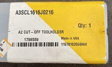 Kennametal A3scl1616j0216 A3 Cut Off 16mm Max Depth Toolholder Edp 1798559 Cnmg