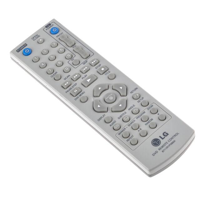 Original LG 6711R1P089A Télécommande pour DVD Player/Éprouvé