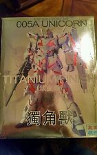 Gao Gao 1/100 Mobile Suit Gundam 005A UNICORN TITANIUM Plastic Model Kit Bandai