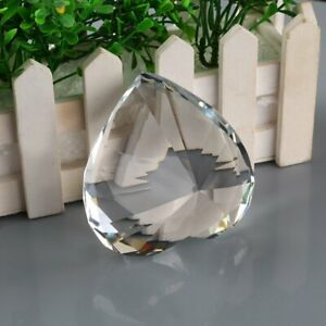 9539b4db86145 Image is loading 90mm-Clear-Crystal-Paperweight-Cut-Glass-Large-Giant-