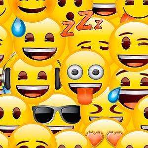 Emoji-Papier-Peint-WP4-EMO-OJI-20-Enfants-Chambre-Nouveau-Mur-Decor