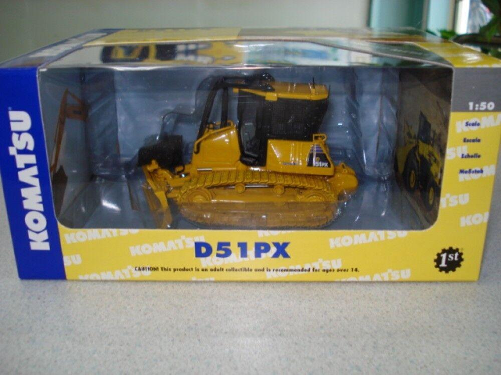 NOUVEAU   KOMATSU Bulldozer D51PX 1 50 Diecast Model First Gear F S du Japon  la meilleure sélection de