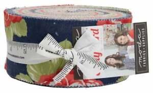 Moda-Early-Bird-Jelly-Roll-2-5-034-Fabric-Quilting-Strips-55190JR-J05