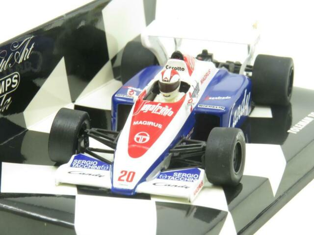 Minichamps 430 840020 Toleman TG 184 1984 J Cecotto 1 43 Scale Boxed