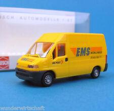 Busch H0 47319 FIAT DUCATO Kasten EMS Kurier-Post Schweiz CH OVP HO 1:87 box