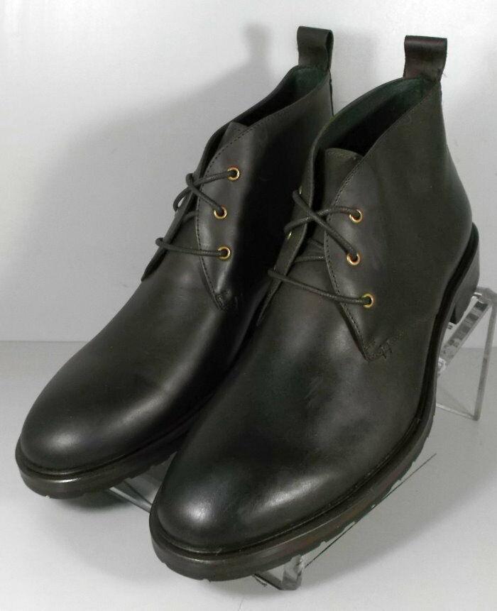 271506 msbt 50 Chaussures Hommes Taille 10 m en cuir marron dentelle Bottes Johnston & Murphy