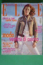 ELLE ITALIA FEBBRAIO 2000 TAREN CUNNINGHAM ESTHER WILLIAMS ROSALIND SOLOMON